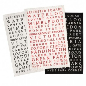 Victoria Eggs tea towels