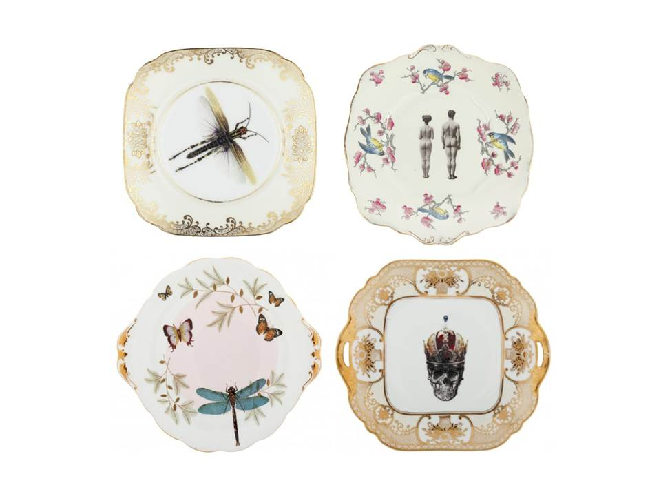 Melody Rose Plates