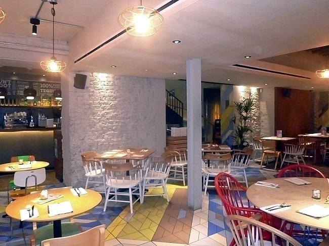 White Brick Wall, Wahaca Interiors
