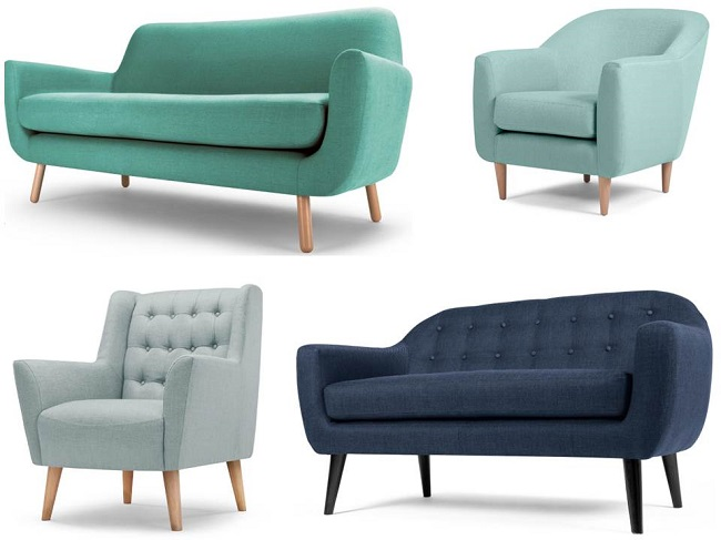 Teal Paint, Complementary Sofa Colours