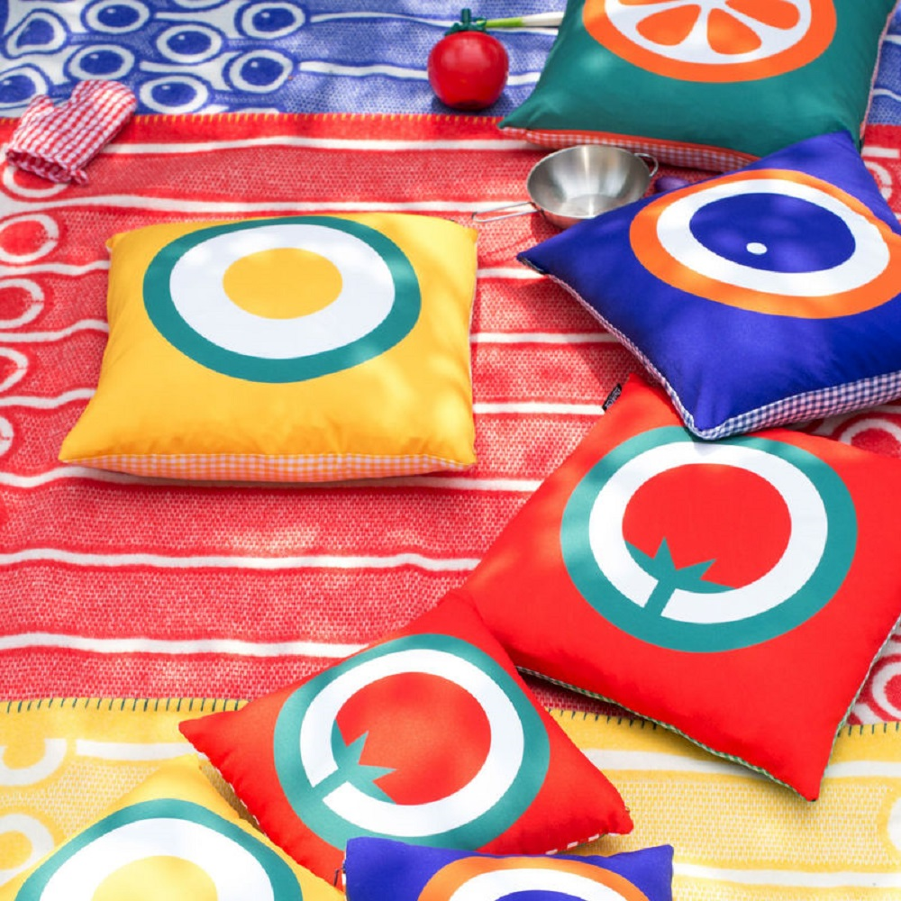 Hokolo flavours home accessories with bold patterns