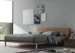 Wooden beds warming bedrooms with natural materials