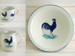 hinchcliffe and barber dorset delft cockerel