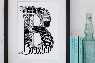 lucy loves this designs bold screen printed typographic gifts