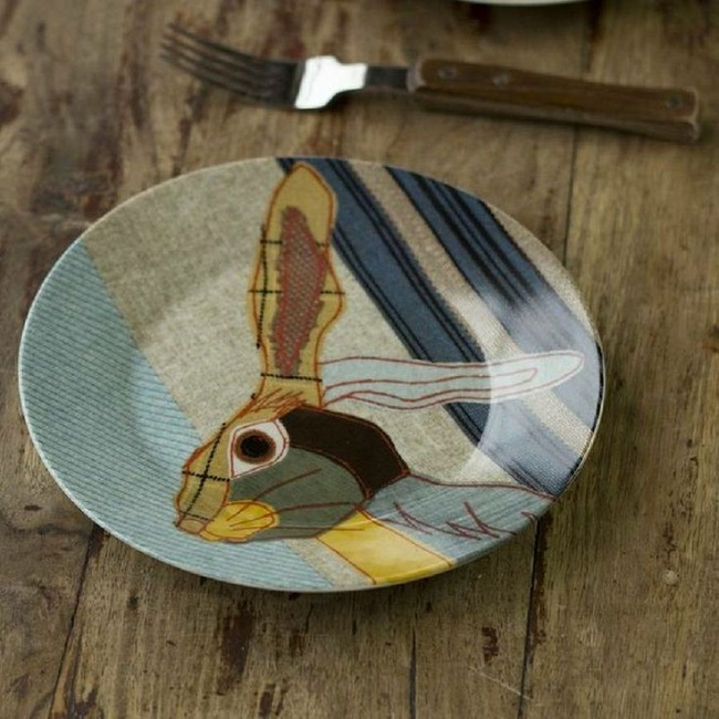 home accessories hare plate