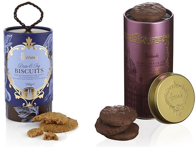 harrods christmas gifts biscuits