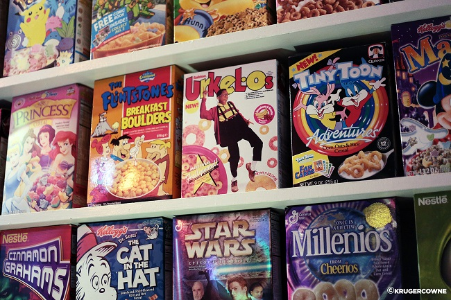 cereal killer cafe selection of cereals