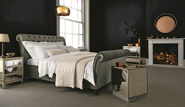 glamorous bedroom ideas henrietta bed