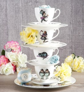 mrs moore alice in wonderland tea cups and saucers