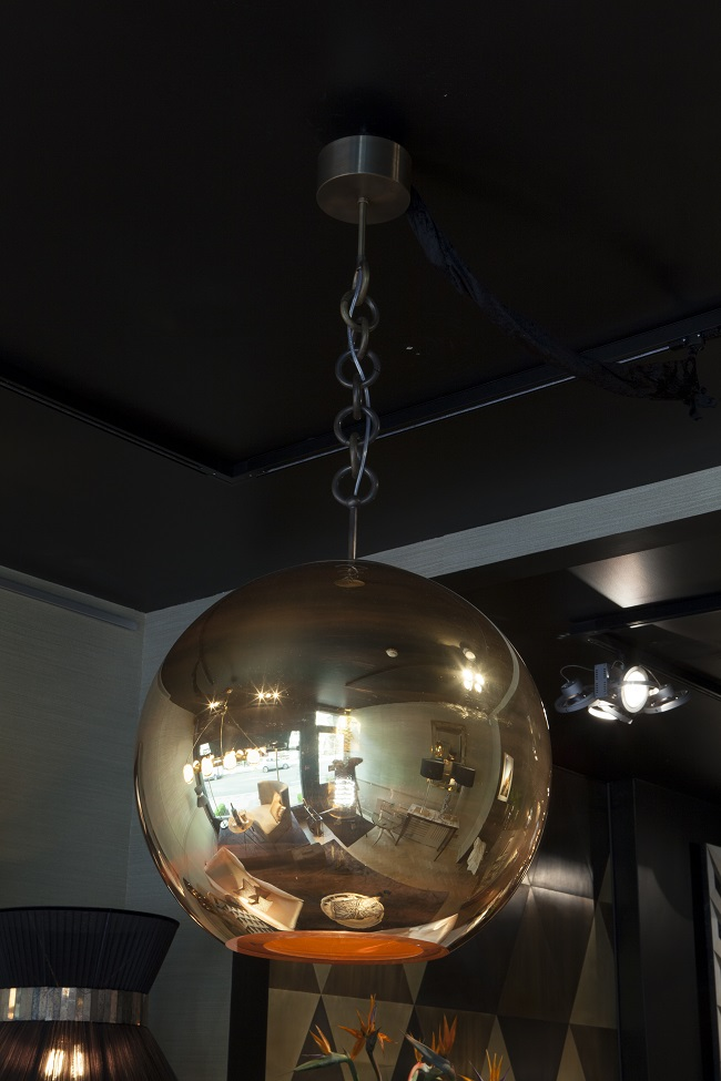 charles burnand, thunderball pendant light