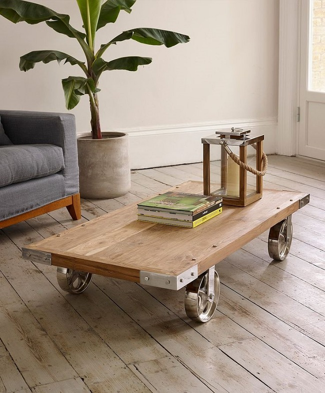 industrial coffee tables, lombok