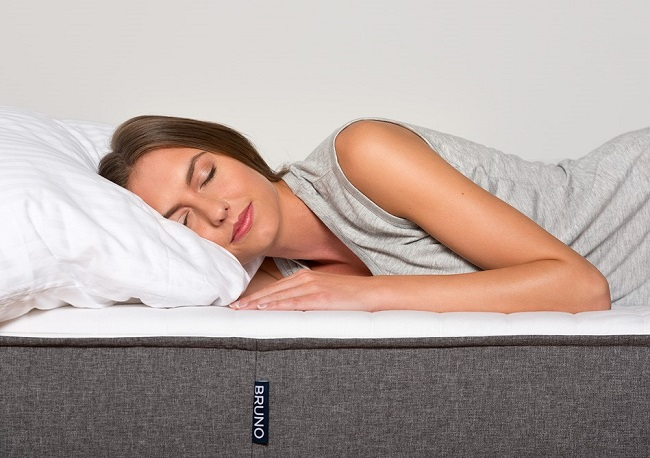 best quality mattress, woman sleeping