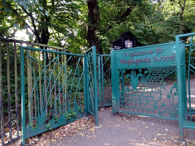 parkland walk north highgate wood