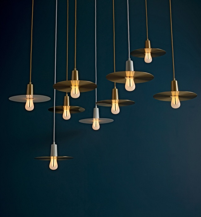 plumen, energy saving light bulb, model two, drop hat shades