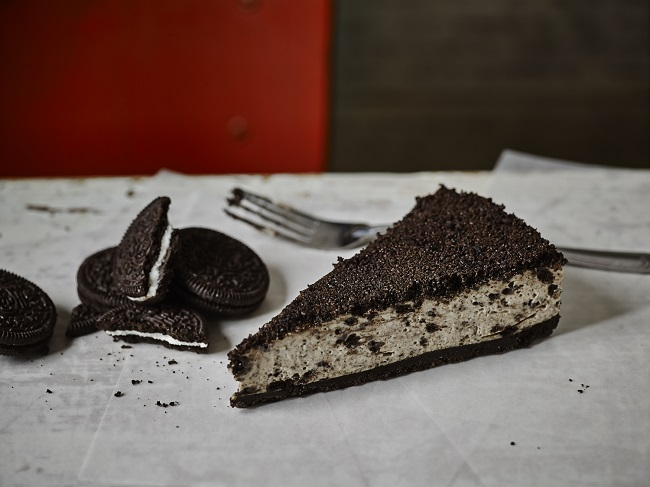oreo cookie desserts, byron cheesecake