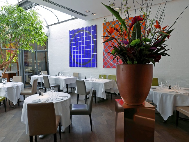 fredericks restaurant islington, interiors
