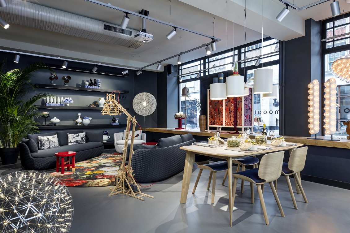 Moooi london showroom great titchfield street homegirl for Home furniture london