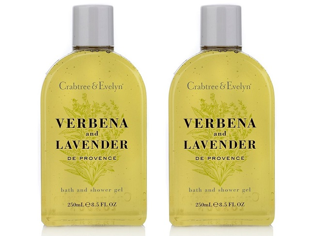 crabtree and evelyn gentle shower gels, m and s