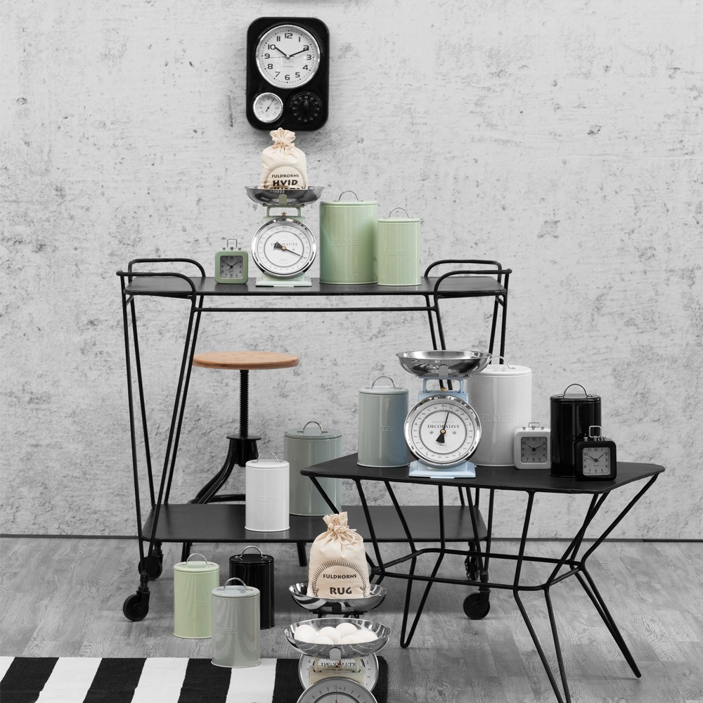 Lene Bjerre Depot Black Metal Furniture Collection
