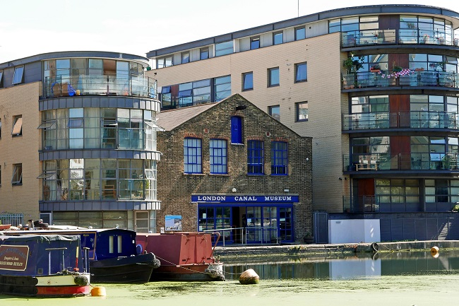 things to do in kings cross, london canal museum