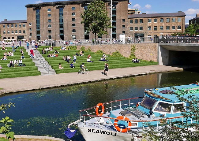 things to do in kings cross, steps to regents canal