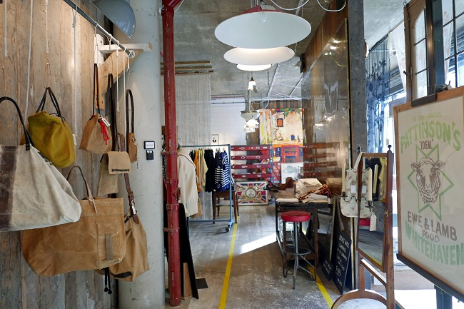 lassco ropewalk, shop interior