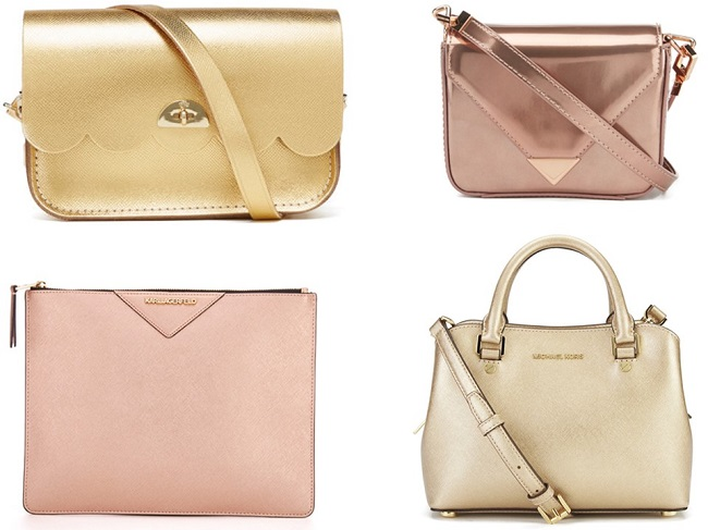metallic bags for women, coggles