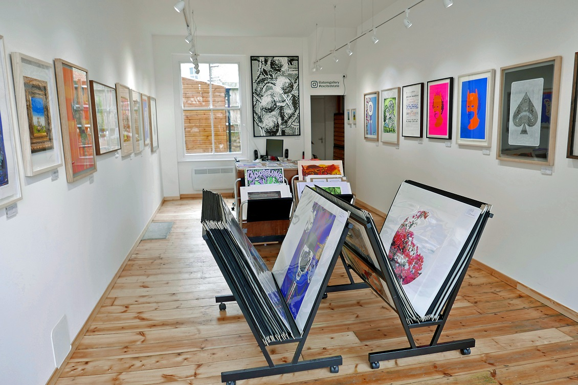 Atom Gallery Stoke Newington London N16