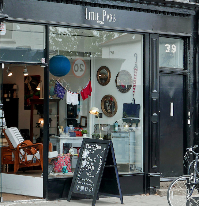 little paris french interiors store crouch end exterior