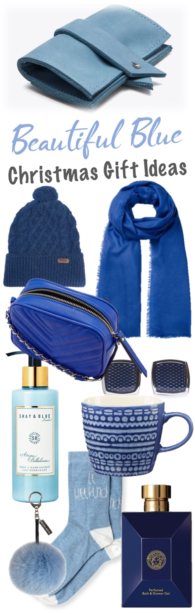 Beautiful Blue Christmas Gift Ideas Homegirl London