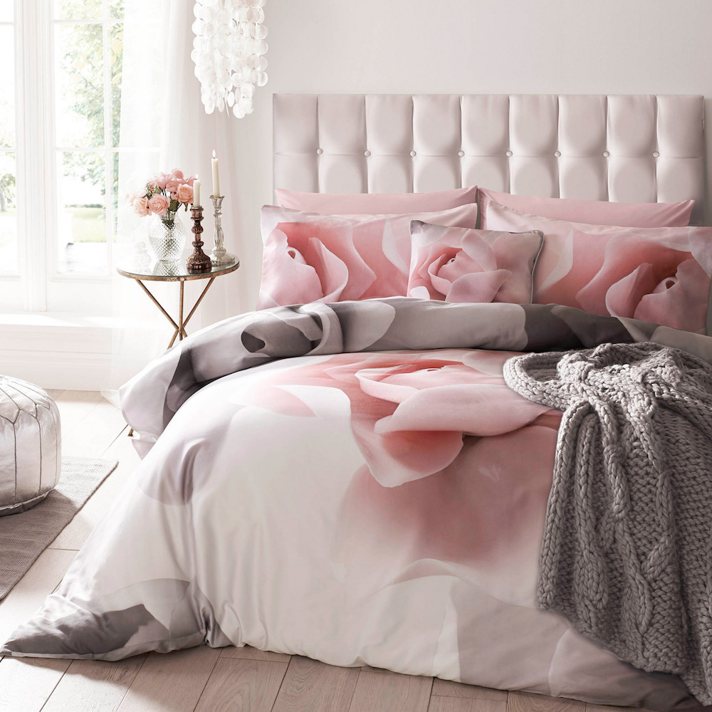 Adorable Rose Colour Bedroom Ideas