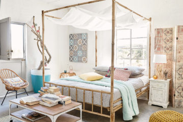 naturally charming bamboo bedroom ideas featured image
