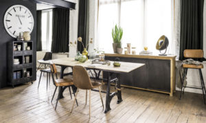 statement industrial dining room design ideas featured image