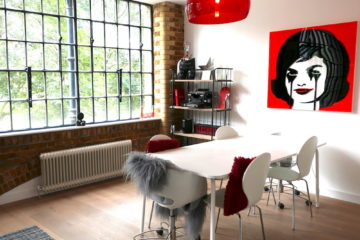 my apartment red and white dining room ideas featured image