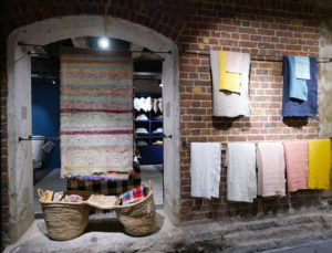 caravane interiors shop coal drops yard, shop interiors