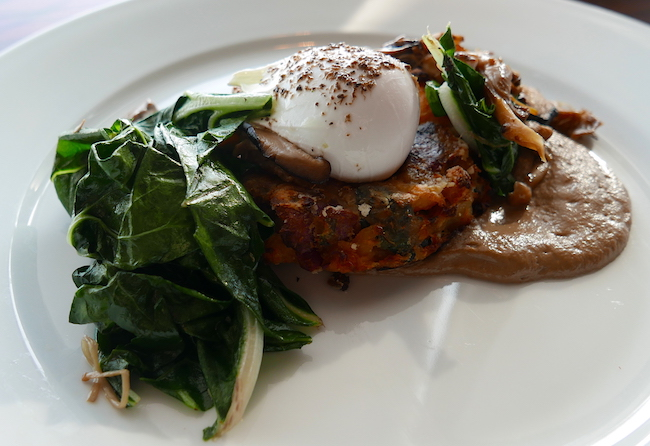 aqua shard weekend brunch celebration, bubble and squeak