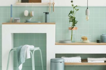 fabulous fresh mint bathroom accessories featured image