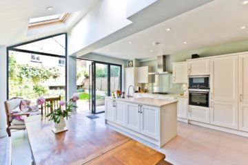 open plan kitchen diner extension featured picture image
