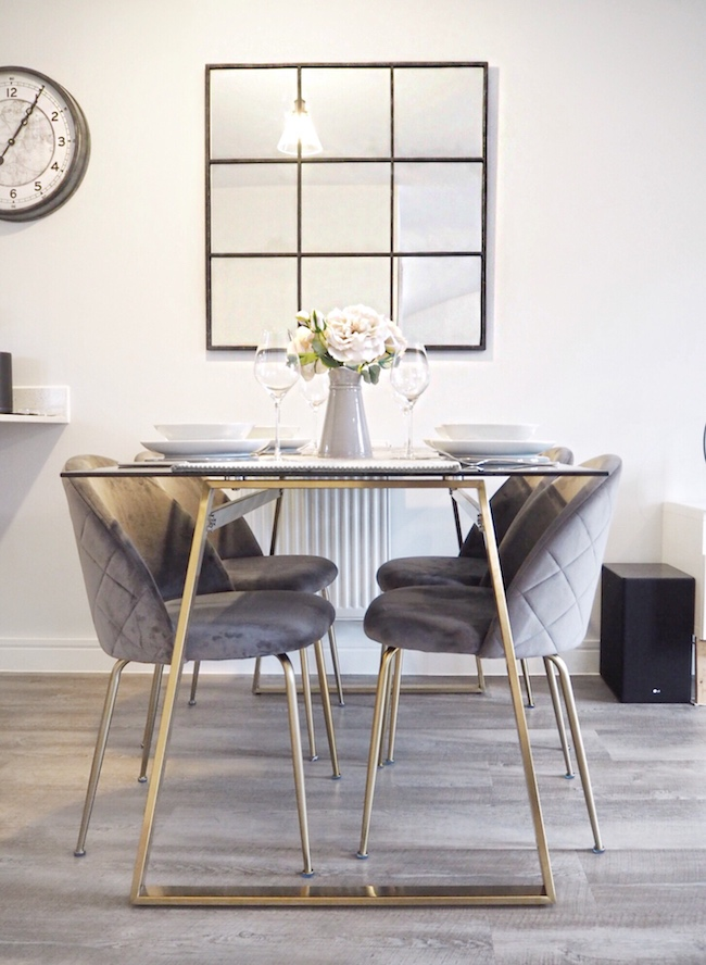 open plan kitchen diner extension styling tips, heather dining chair cult living