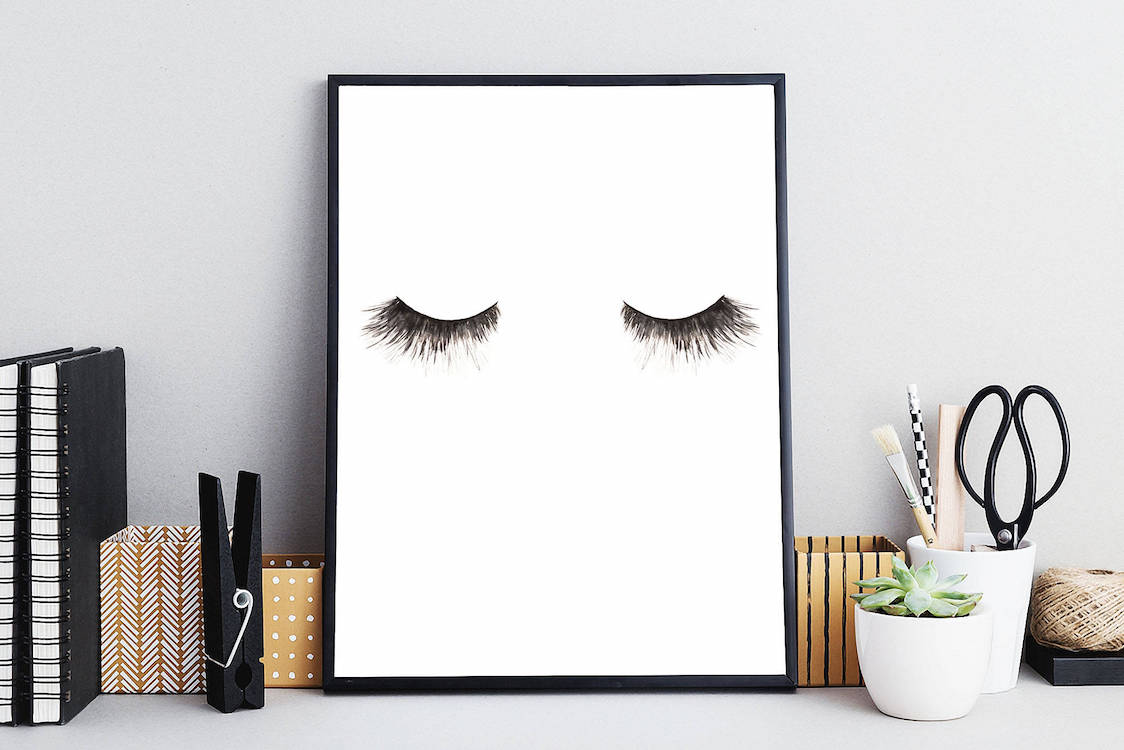 Bold Black and White Wall Art Prints
