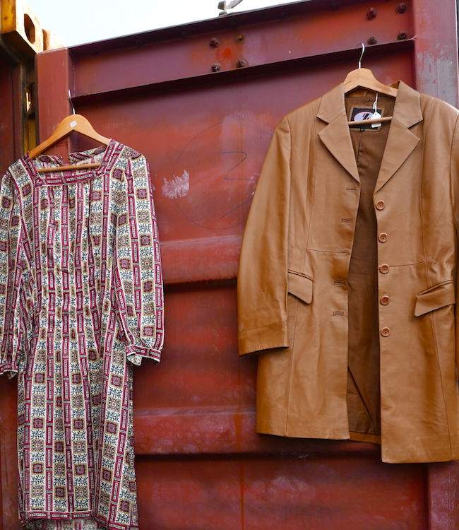 flea vintage and makers market london se1, vintage clothing