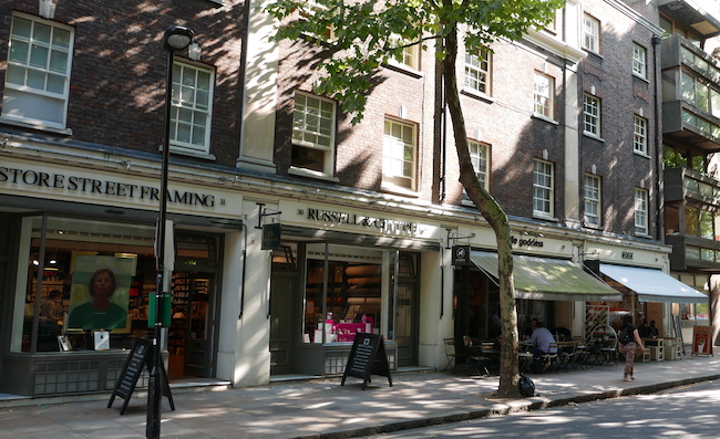 ten things to do in bloomsbury london, store street