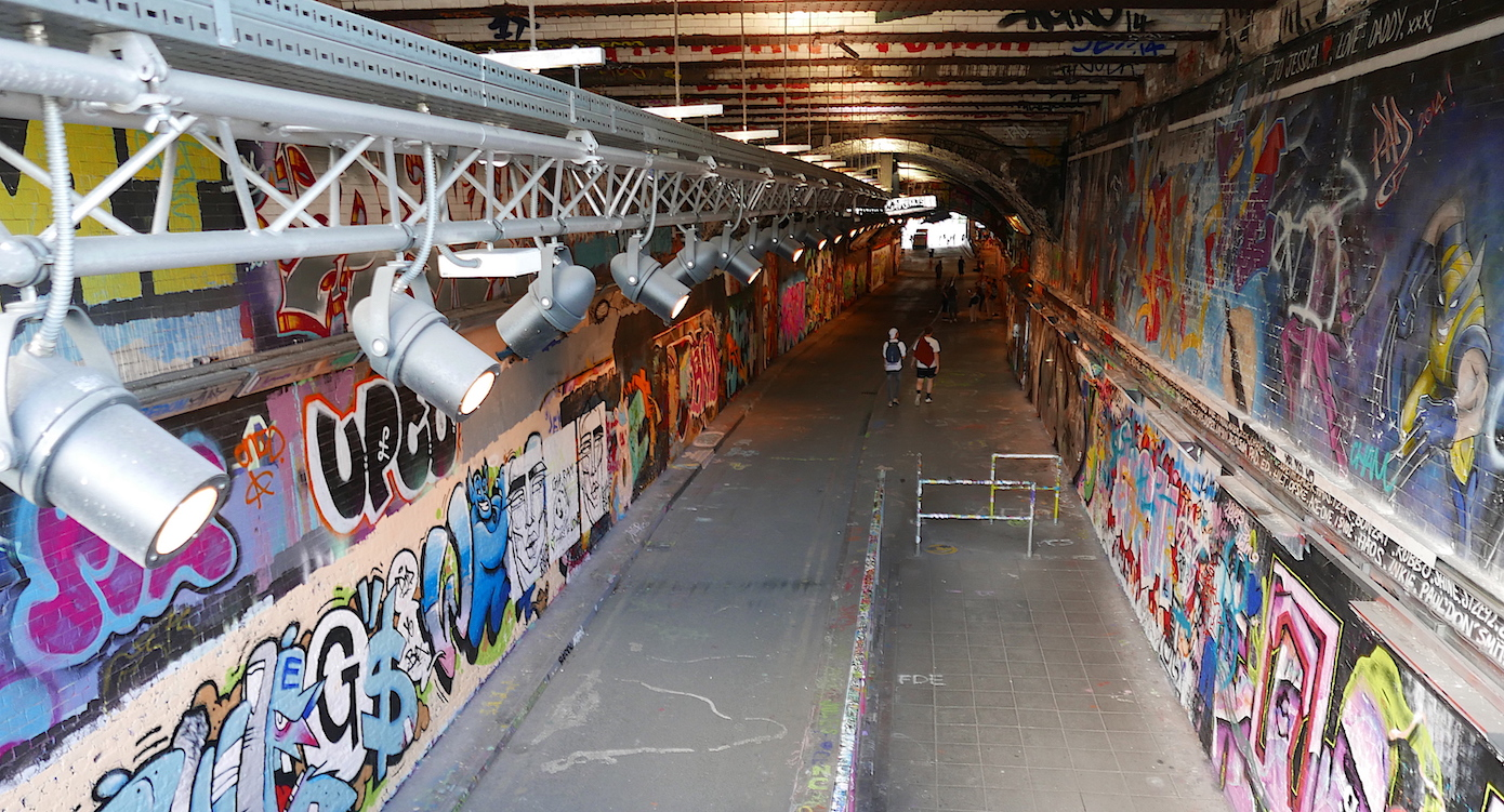 Leake Street Arches and Graffiti Tunnel Lambeth
