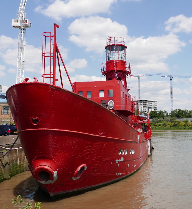 ten things to see at trinity buoy wharf, lightship 95