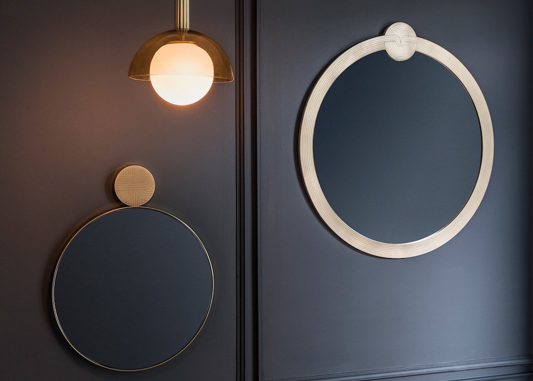Gorgeous Good Looking Round Wall Mirrors