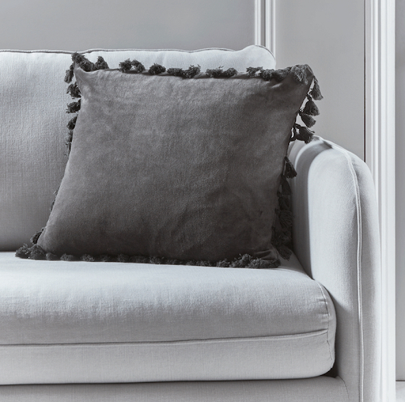 ten tips for staging your living room cox and cox tassel cushion