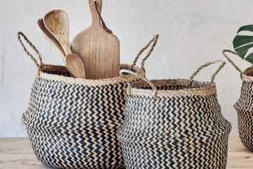 stylish small basket storage solutions feature image