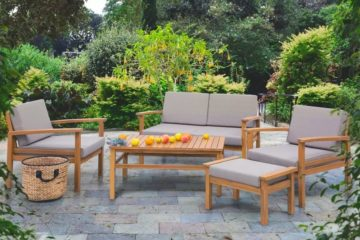 how to create an outdoor living room featured image