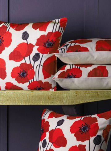 poppy red conservatory styling ideas feature image